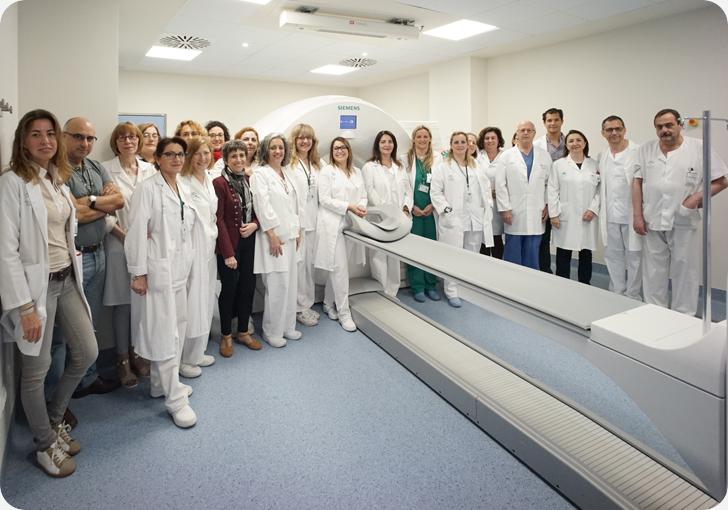 La Unidad de Medicina Nuclear del Puerta del Mar incorpora una nueva tecnología que permite reducir la dosis de radiación en los pacientes